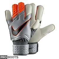 Оригинальные Вратарские перчатки Nike GK Vapor Grip3 Gray Orange