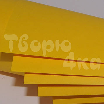 Бумага цветная А4 80 гр/м.кв Deep Gold (золото)