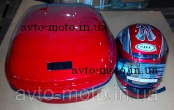 Кофр багажник пластиковый с шлемом