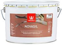 Фасадная краска Novasil Tikkurila с силиконом Новасил, 9л