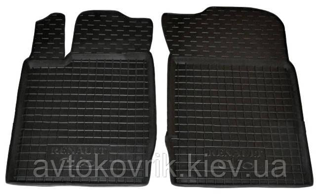 Полиуретановые передние коврики в салон Renault Symbol I 1999-2008 (AVTO-GUMM)