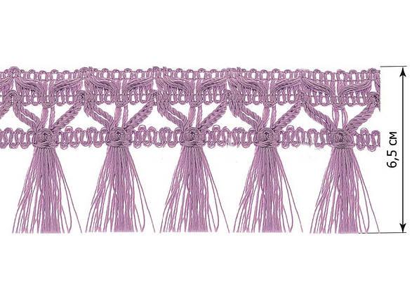 "Бахрома ""Флор"" фиолетовый, фото 2"