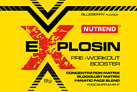 Предтренировочные комплексы Nutrend Explosin 9g