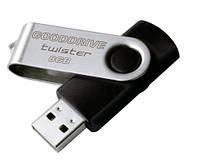 Флэш-накопитель USB 8GB Goodram Twister Black (UTS2-0080K0R11)