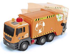 Машинка Dickie Toys Мусоровоз с контейнером, 55 см 3809000, фото 3