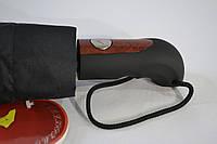 Мужской зонт полуавтомат «Bellissimo» на 10 спиц из фибергласса системы «антиветер»