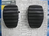 Накладка педали сцепления + педали тормоза (L=50 mm) на Renault Trafic 2001-> — Metalcaucho MC04717