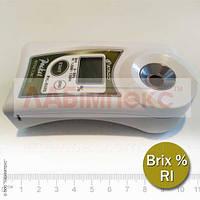 Рефрактометр карманный цифровой Atago PAL-BX/RI (Brix, RI)
