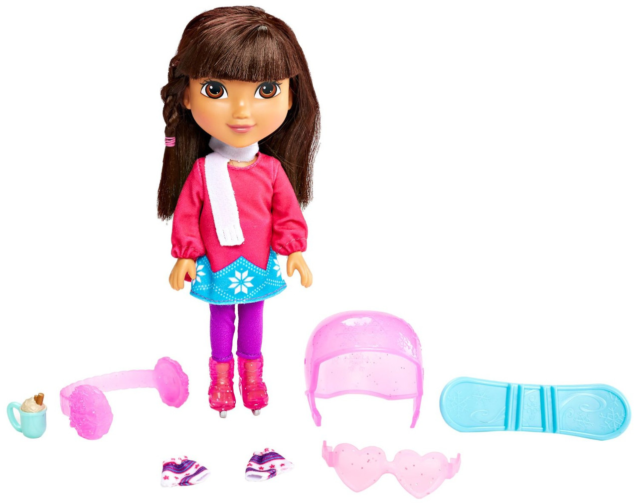 Fisher-Price Даша путешественница Зимние приключения Nickelodeon Dora and Friends Winter Theme Dora Figure