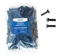 CTH-1 LXL Держатель кабельной стяжки (100 шт)черный