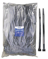 Кабельная стяжка замыкающаяся 12,7х300 мм. LXL CHS-12*300 черная