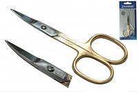 01-120 Premium ножницы для ногтей золотые