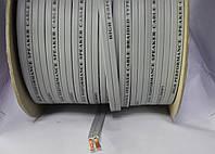 7-1028. Кабель акустический плоский 2х2,5мм2 (CU) серый JY-6112 100м