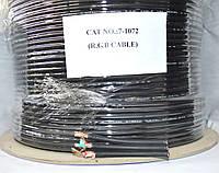 07-10-015. Кабель RGB 3жилы 30х0,12(112х0,12мм) чёрный 100м