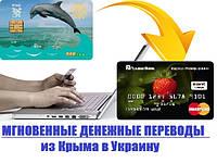 Денежный перевод из Крыма в Украину. Оплата на ПриватБанк и другие банки