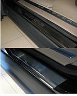 Накладки на пороги Land Rover Sport 2005-2009 4шт. premium