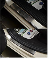Накладки на пороги Lancia Ypsilon 2012- 4шт. premium
