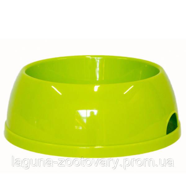 Moderna МОДЕРНА ЭКО №3 миска для собак, пластик, 1450 мл, d-20 см