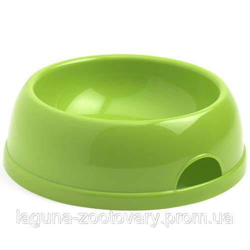 Moderna МОДЕРНА ЭКО №1 миска для собак и кошек, пластик, 470 мл, d-14 см