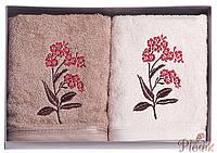 Набор махровых полотенец Diandra Belga 50х90