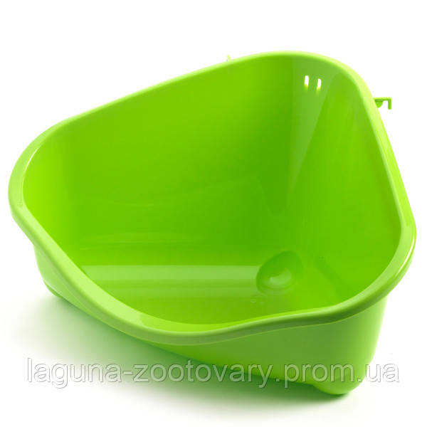 Moderna ПЕТС КОРНЕР туалет угловой для грызунов, большой, 49Х34,6Х026 см