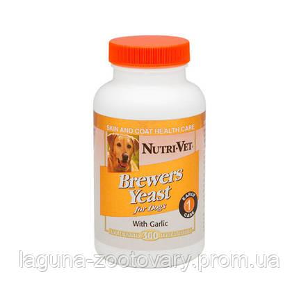 НУТРИ-ВЕТ БРЭВЕРС ЭСТ витаминный комплекс для шерсти собак, жевательные таблетки, 500 табл., фото 2