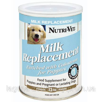 Nutri-Vet Puppy Milk НУТРИ-ВЕТ МОЛОКО ДЛЯ ЩЕНКОВ заменитель сучьего молока для щенков, 340 г, фото 2