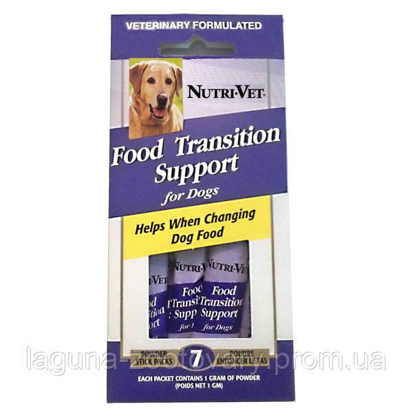 НУТРИ-ВЕТ ПОМОЩЬ ПРИ СМЕНЕ КОРМА добавка для собак с пребиотиками и полезными бактериями, порошок, стик (1 г)