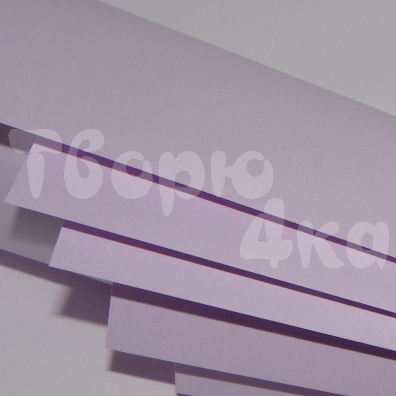 Бумага цветная А4 80 гр/м.кв light lavender (лавандовый)