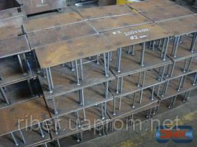 Закладные пластины в фундамент 6х250х300 мм, фото 3