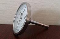 Термометр биметаллический трубчатый PAKKENS Ø63мм и Ø100мм, Турция
