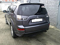 Накладка заднего бампера Mitsubishi Outlander XL