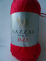 Пряжа Газзал Джаз красный