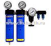 Двухступенчатый фильтр с редуктором  для подготовки воздуха Huberth  RP1060002