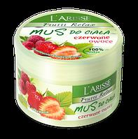 Мусс для тела с красными фруктами 100% релакс - Body Mousse-Red Fruits, 250 г
