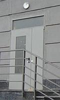 Двери противопожарные двухстворчатые ЕІ-30