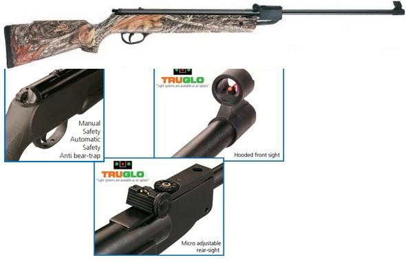 Пневматическая винтовка Hatsan 80 camo