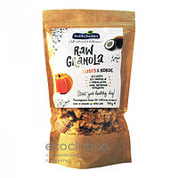 Сухой завтрак без сахара Raw Granola Тыква и кокос Healthy Tradition 160г