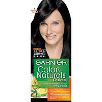 Garnier Garnier Color Naturals - Стойкая краска для волос Гарньер Колор Нэчралс Объем: 110 мл., Цвет: Garnier Color Naturals 1 Ультра черный