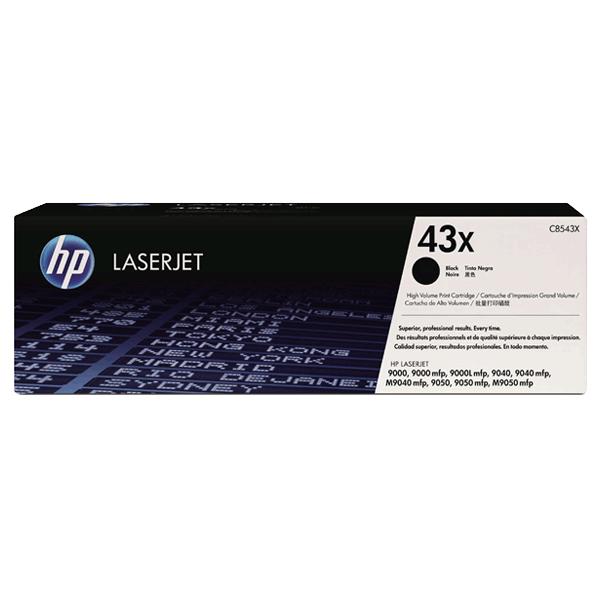 Картридж HP LJ C8543X (№43X) для LaserJet 9000/ 9040/ 9050