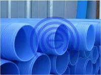 Обсадная труба для скважин 125 Evci Plastik синяя 3м