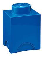 Одноточечный синий контейнер для хранения Lego PlastTeam 40011731