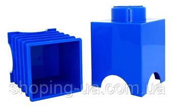 Одноточечный синий контейнер для хранения Lego PlastTeam 40011731, фото 2