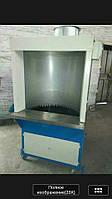Шкаф с водным барьером для финишной обработки обуви