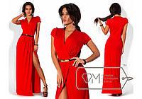 Платье в пол Фабрика Моды 6789