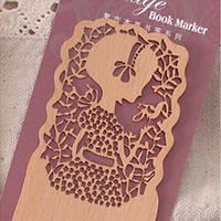 Закладка для книг Девочка и птица