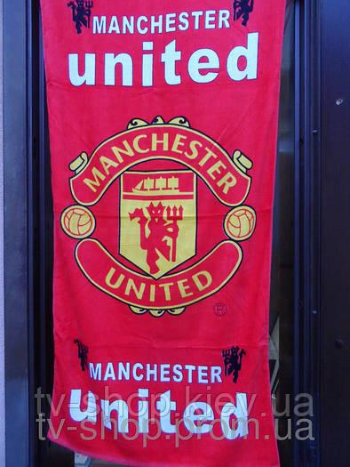 Пляжное полотенце Манчестер (5 клубов)