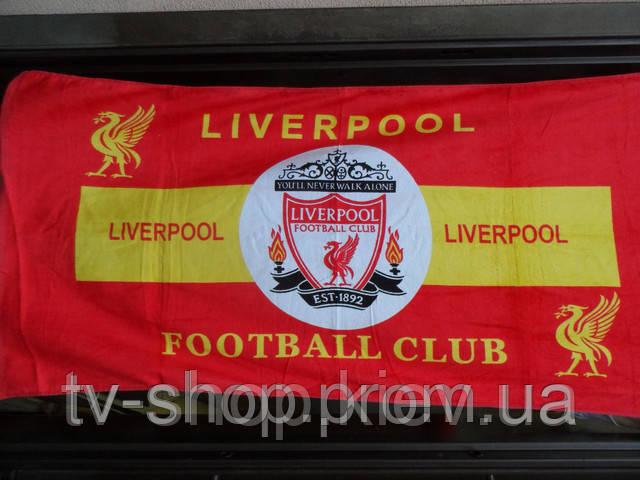 Пляжное полотенце Ливерпуль (5 клубов)