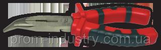 Пассатижи с изогнутым носом 160 мм MASTERCUT TITACROM BIMAT, фото 2