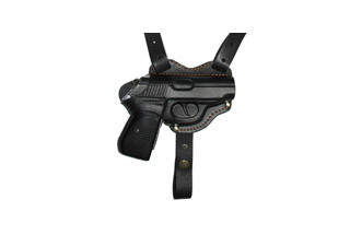 Кобура оперативная кожаная для пистолета Walther PPK/S